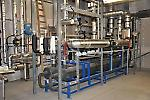 waste heat recovery of the CO2 refrigeration plant